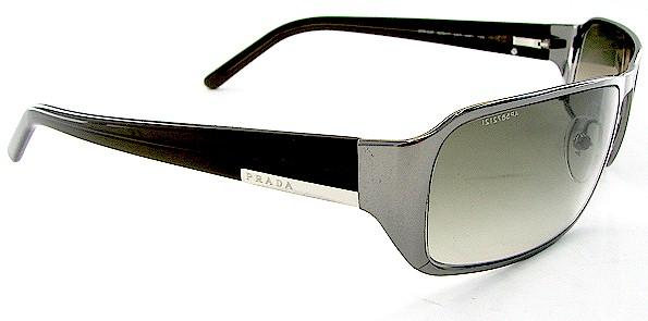 dc97f4904bebb ... get prada spr 52f spr52f shiny gunmetal 5av 4m1 sunglasses by prada  2cdf7 5a324