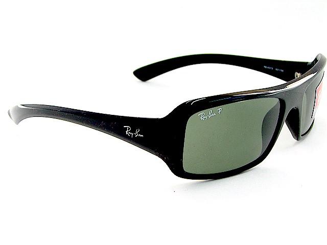 Ray 60x18 Black 60158 Polarized 4073 Ban Rayban Sunglasses ZOiukPX
