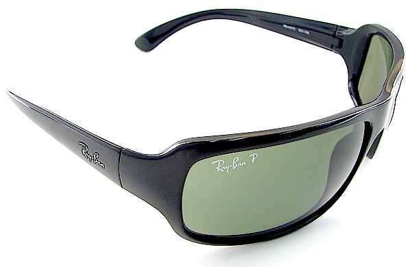 2dd78e75f86 RAY BAN 4075 Black 601 58 RAYBAN Polarized Sunglasses 61x16 by RAY BAN