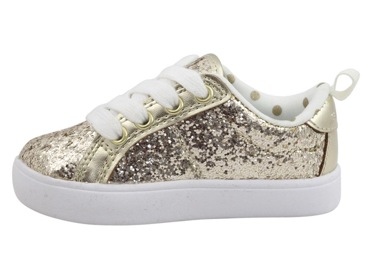 6802e0c0374 Carter s Toddler Little Girl s Emilia-3 Glitter Sneakers Shoes by Carter s