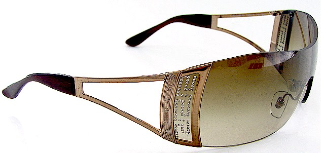 118d3533863f VERSACE 2058-B 2058B 1169 13 Brown SUNGLASSES by VERSACE