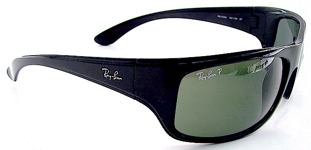 Ray Ban Polarized Sunglasses  ray ban 4092 black 601 58 rayban polarized sunglasses 65x17