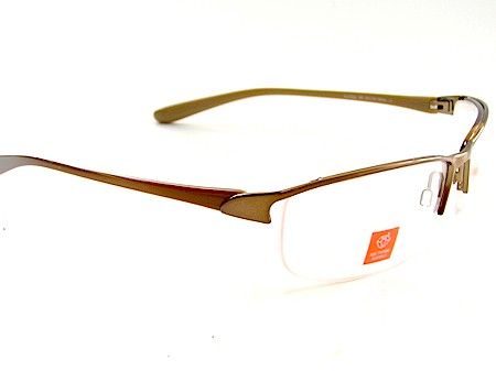 Puma 15202 PU15202 BR Copper/Brown Optical Eyeglasses Frame 59x18