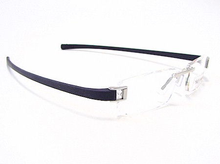 da601e60205 Tag Heuer TagHeuer 7101 Track 002 Brushed Blue Optical Frame Eyeglasses  51x18 by Tag Heuer