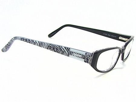 GUESS GU-1479 GU1479 Black Zebra BLKZ Optical Frame Eyeglasses 50x16