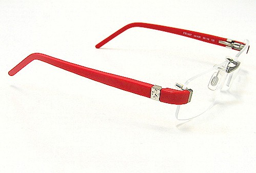 FERRARI FR-5027 FR5027 Gunmetal A36 Optical Frame Eyeglasses 56x16