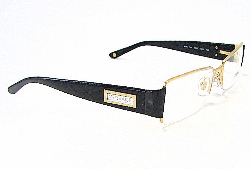 VERSACE 1140 Gold 1002 Optical Eyeglasses Frame