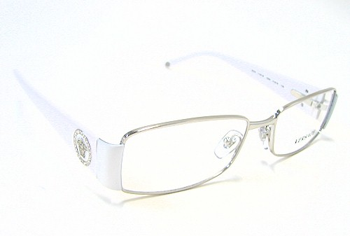f9c015ea881f Versace 1125-B Eyeglasses 1125B White 1000 Optical Frames by Versace