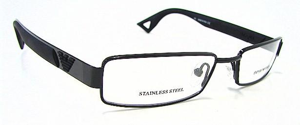 emporio armani ea 9514 eyeglasses ea9514 black 006 optical frames by emporio armani - Emporio Armani Glasses Frames