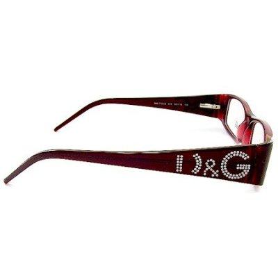 DOLCE & GABBANA 1103B Eyeglasses D&G 1103-B Burgundy 615 ...