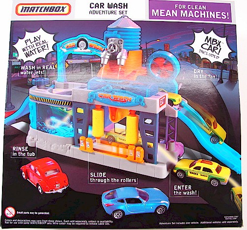 Matchbox City Playset Car Wash By Mattel Toy H8436