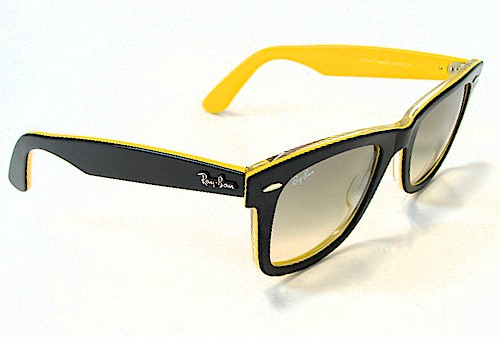 ray ban wayfarer yellow sunglasses