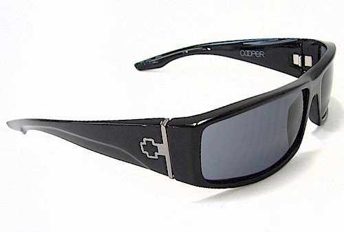 5db8c54706 Spy Optic Cooper Sunglasses COBS00 Black Gloss Shades by Spy Optic