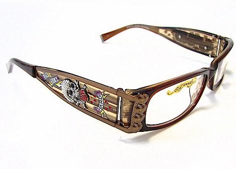 949f11d0ea ED HARDY EHO712 Eyeglasses Vintage Tattoo EHO 712 Hazel Optical Frames by ED  HARDY