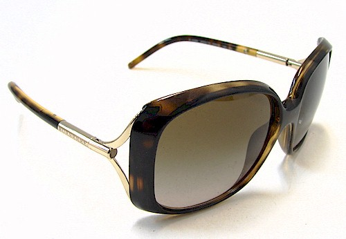 c053384901b BURBERRY Women s BE4068 BE-4068 3002 13 Tortoise Gold Sunglasses by Burberry