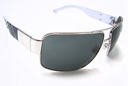 0e1be6eac6c BURBERRY Sunglasses B3040 3040 Striped Grey White 1005 87 Shades by Burberry