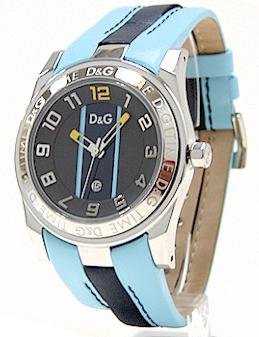 b99fff4c Dolce & Gabbana DW0217 D&G Men's Watch Time Unofficial Leather Strap by  Dolce & Gabbana