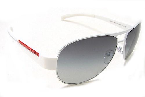 802b4e7fbe2ad PRADA SPS 51L Sunglasses SPS51L White 7BA-3M1 Shades by Prada