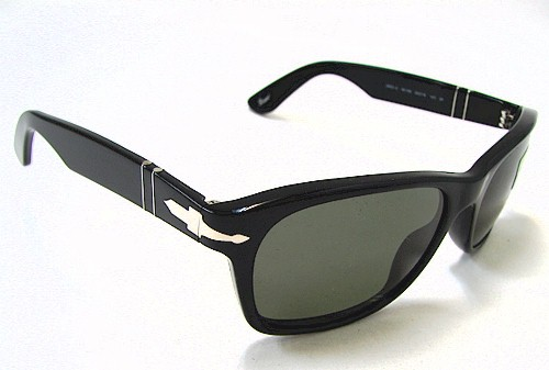 233ab8f8ee PERSOL 2953-S Sunglasses 2953S Black 95 58 Polarized Shades by Persol