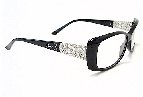 Dior Metal Eyeglass Frames : Christian Dior CD 3184 Eyeglasses CD3184 Black Palladium ...