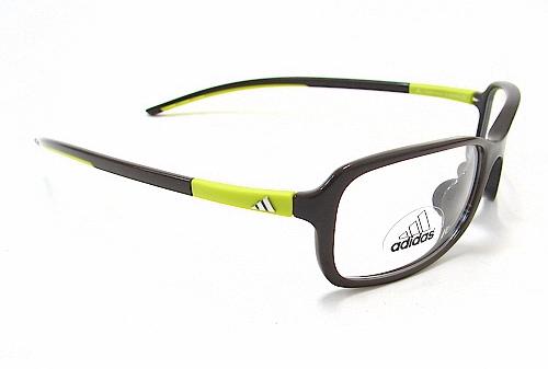 Adidas a886 10 Eyeglasses Mud Lime 6063 Optical Frame