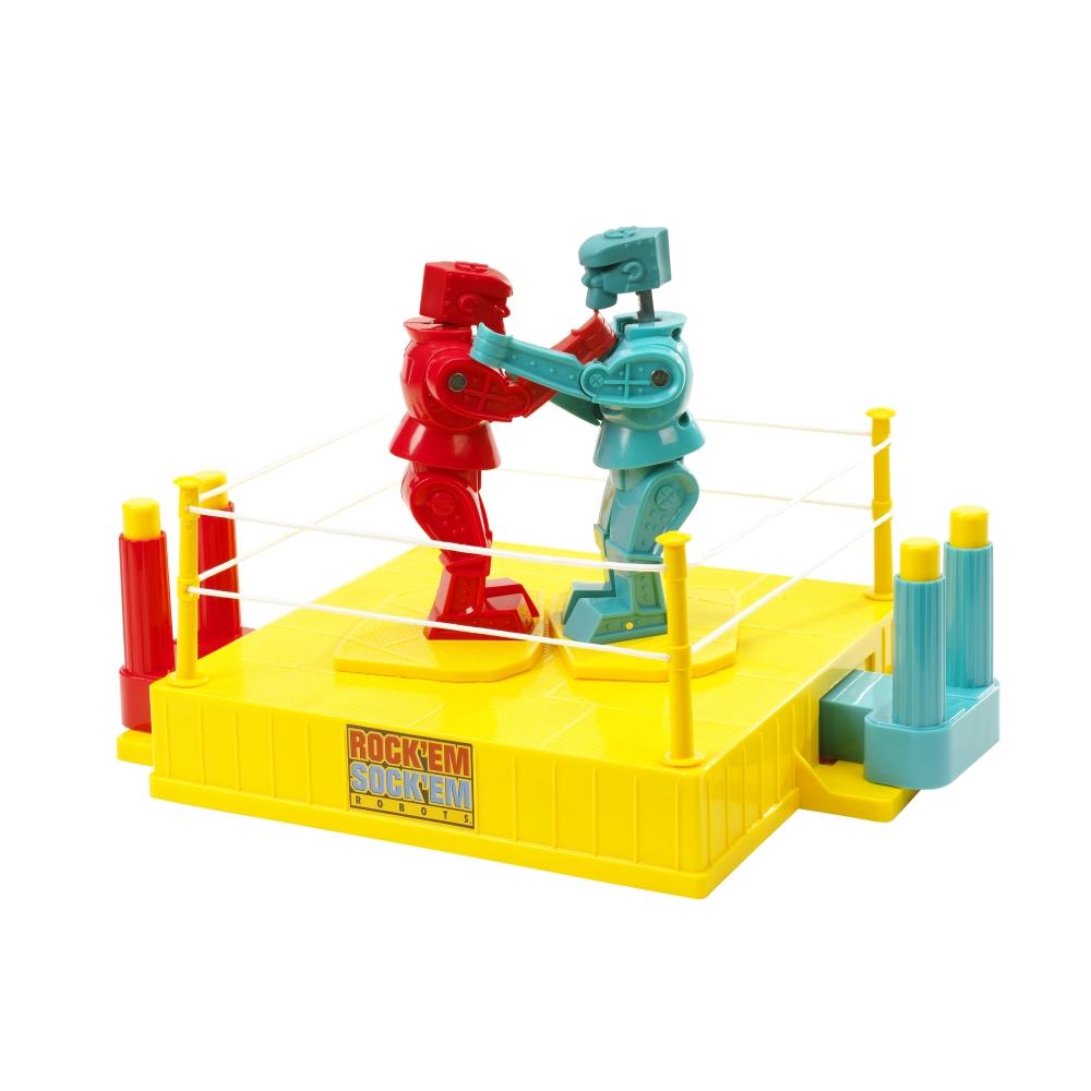 Rock'Em Sock'Em Fighting Robots Toy Game by Mattel# 68896