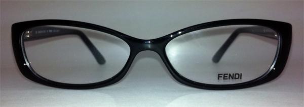 72813298e927 Fendi F881 Black 001 Eyeglasses Rx
