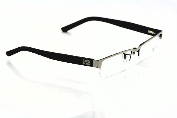 a10a9a03406 Ray Ban RB 6182 Eyeglasses RayBan RX 6182 Black Silver 2509 Frame by Ray Ban