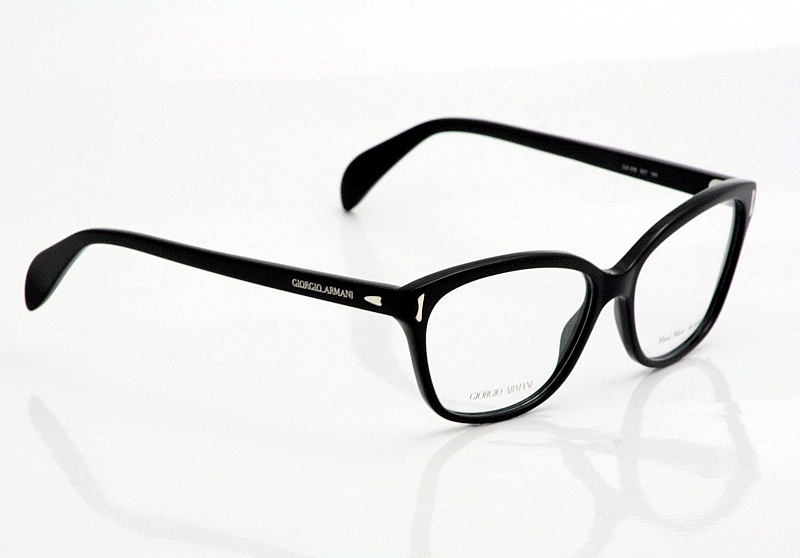 Giorgio Armani Eyeglasses GA818 Black Optical Frames ...