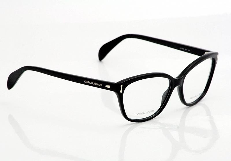 50042b5545 Giorgio Armani Eyeglasses GA818 Black Optical Frames by Giorgio Armani
