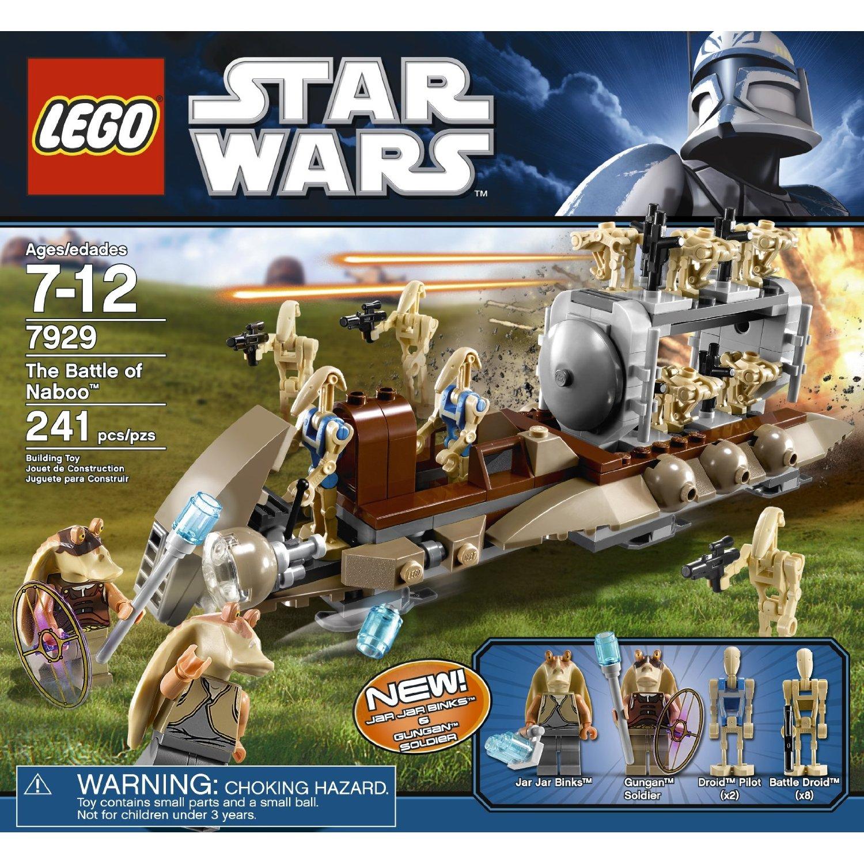 Lego Star Wars Battles 0 30 Apk: LEGO Star Wars The Battle Of Naboo 7929 Building Toy