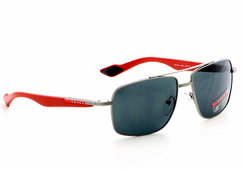 baba386b6834c Prada Sunglasses SPS 51M Gunmetal Shades by Prada