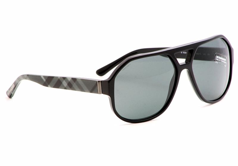 e9adc2b003b Burberry Sunglasses B4091 Black Grey Fantasy Shades by Burberry