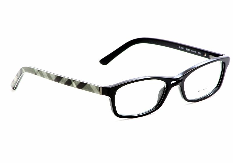 Burberry Eyeglasses B2087 Black Optical Frame