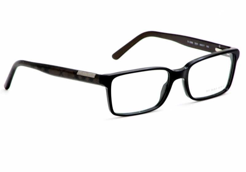 Burberry Optical Glasses Frames : Burberry Eyeglasses B2086 Black Optical Frame