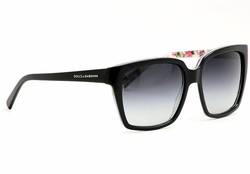 220eeac2f6b1 Dolce   Gabbana Sunglasses DG 4077M Black Flower Shades by Dolce   Gabbana