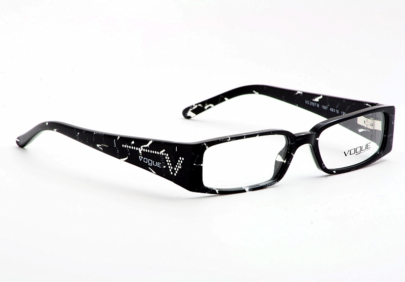 Vogue Eyeglasses VO2557-B Black Glitter VO2557B Optical Frame