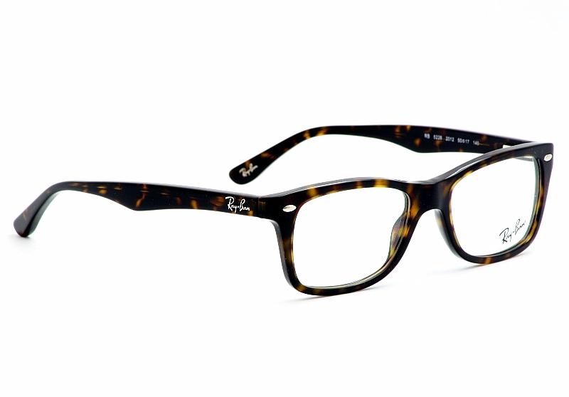 RayBan Eyeglasses RB5228 Dark Havana Optical Frame
