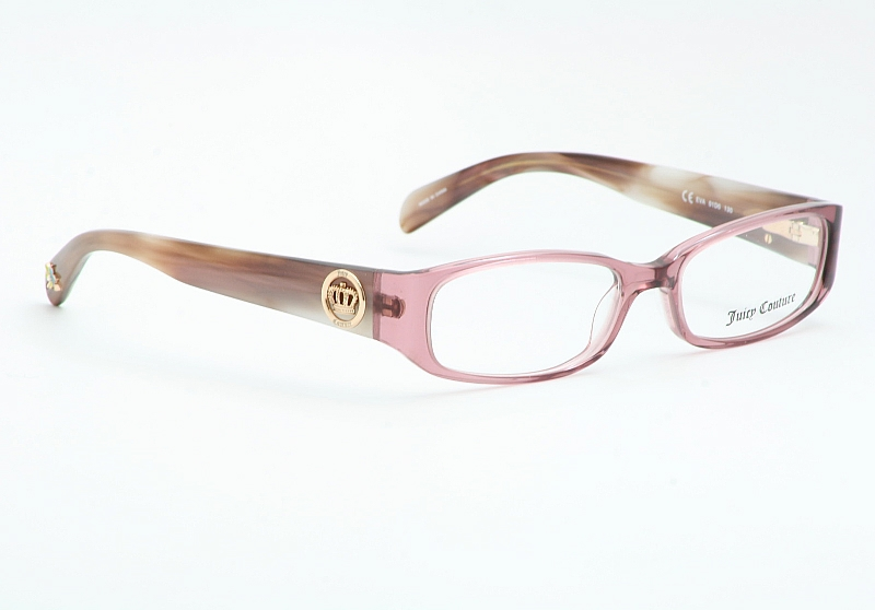 juicy couture eyeglasses eva rose pink horn optical frame