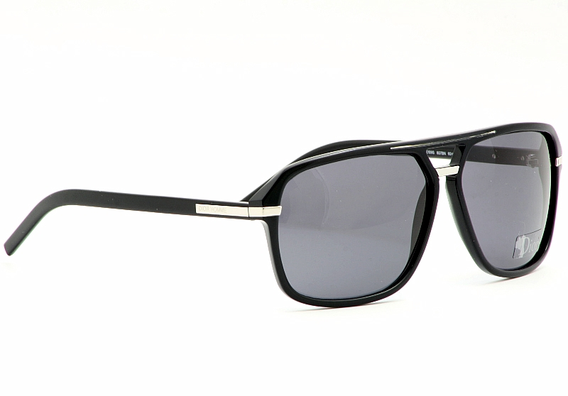 3f75f783170 Dior Homme Sunglasses Black Tie 109-S Black Shades by Dior Homme