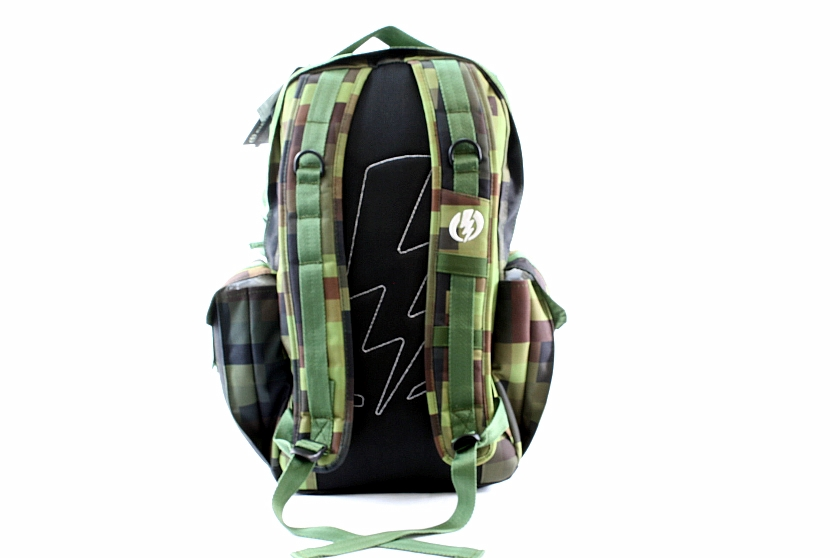 electric backpack recoil camo book bag ed643905. Black Bedroom Furniture Sets. Home Design Ideas