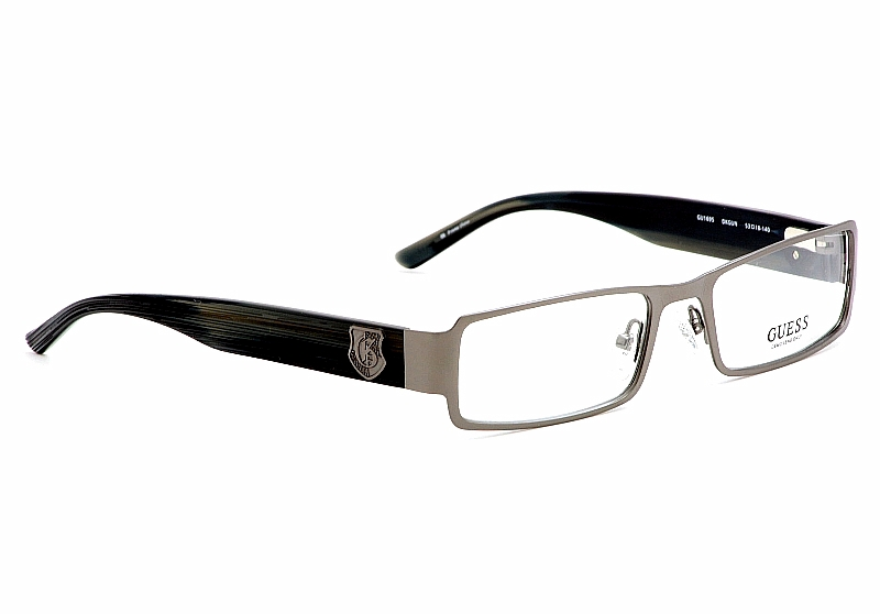 Guess Eyeglasses GU/1695 Dark Gunmetal Optical Frame