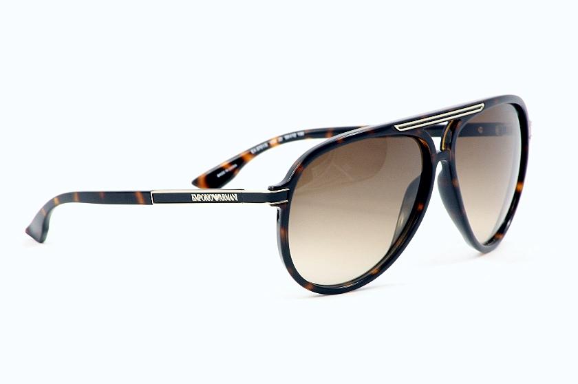 Emporio Armani Sunglasses 9751/S 9751S Havana Brown V08/JD Shields