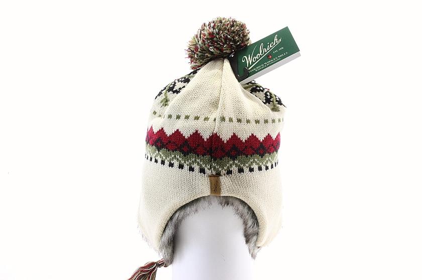 1307df5f6 Woolrich Yosemite Wool Peruvian Beanie Hat - White