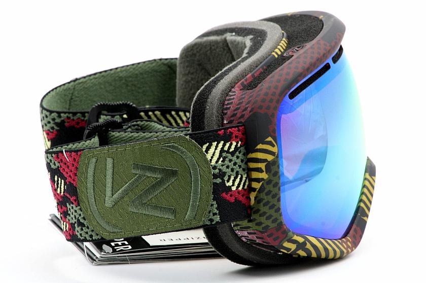 Von Zipper Bob Marley Skylab Locust Chrome Mar Snow Goggles By