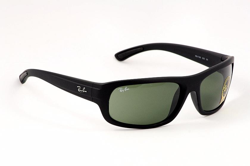 3be57d4a21 RayBan Sunglasses Ray Ban 4166 622 Matte Black Shades by RayBan