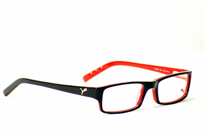 black puma glasses