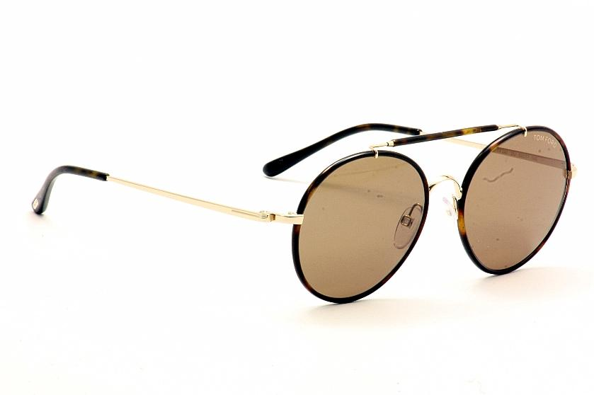 d1048d9ceb8a9 Tom Ford Sunglasses Samuele TF246 FT246 28J Gold Brown Shades by Tom Ford