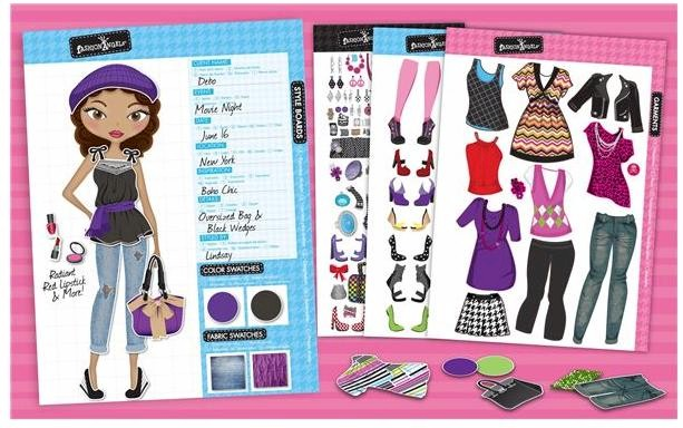 Fashion Angels Girl 39 S Fashion Sticker Stylist Book
