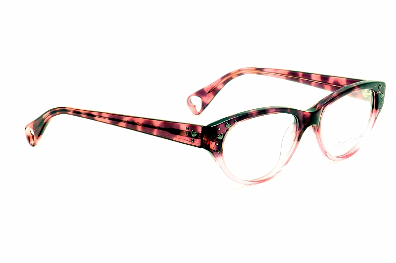 26838a6975 Betsey Johnson Ladies Optical Frame BJ-0135 Vintage Hearts Eyeglasses by Betsey  Johnson